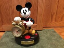 Singing Mickey Mouse Animated Alarm Clock Disney Motion  Box