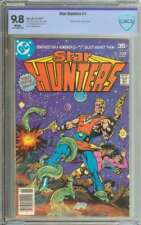 STAR HUNTERS #1 CBCS 9.8 WHITE PAGES