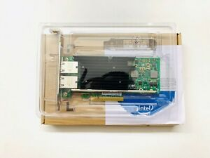 Intel X540-T2 10G Dual RJ45 Ports PCI-E Ethernet Converged Network Adapter AU
