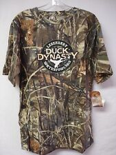 NWOT Men's Duck Dynasty Camo T Shirt Size Large Green Camo w/ Design #317G