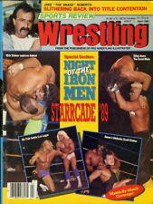 RICK STEINER/STING Sports Review Wrestling Magazine April 1990 JAKE ROBERTS