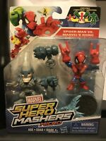 Marvel Superhero Mashers Micro Spiderman vs Rhino