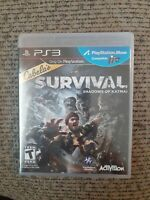 Cabela's Survival: Shadows of Katmai (Sony Playstation 3, 2011) PS3 Rated T NIP