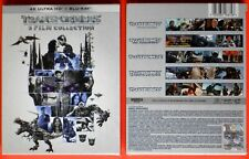 complete series movies transformers collection 4k + blu ray film fantascienza gq