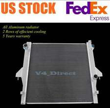 STAYCO Cooling 2-Row Radiator Replacement for Dodge Ram 2500 4000 4500 5500 2003 2004 2005 2006 2007 2008 2009 5.9L//6.7L