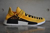 "Adidas NMD Pharrell Williams ""Human Race"" Yellow OG - Yellow/Black/White"