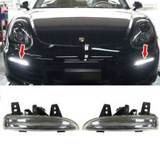LED DRL Indicator For Porsche Boxster 981 LH/RH Additional Headlight 2013-2016
