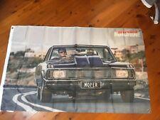 mopar valiant Chrysler cj charger man cave flag Holden ford dodge poster banner