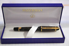 WATERMAN Phileas Indus Grey Fountain pen.NOS,M nib,converter,box,papers,cartridg