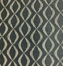 Ballard Designs Infinity Tide Sunbrella Beige Geometric Chenille Fabric 7.25 Y