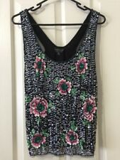 Top Shop Sequinned Top Size US 12