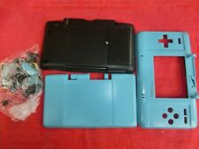 Ersatz Gehäuse Shell für Nintendo DS (altes Modell, FAT) Komplett, Türkis