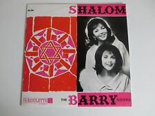 The Barry Sisters Shalom Roulette  PRL 060 Funckler Holland LP