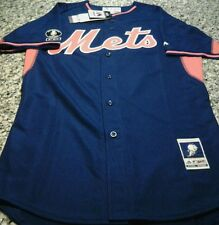2014 Majestic New York Mets David Wright BP Game Model Jersey Size 40 FC Kiner