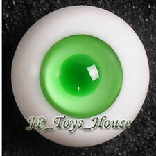 Glass Eye 18mm MD Green fits Volks SD DD DOC 1/3 Size