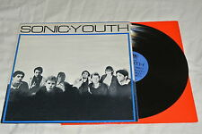 Sonic Youth's First Press Of Their First Record, On Neutral