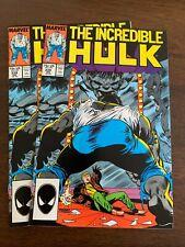 New listing Incredible Hulk #339 (Jan 1988, Marvel) Lot Of 2 Vf+/Nm-