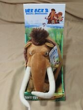 New Ice Age 3 Dawn of the Dinosaurs Soft Toy Plush Stuffed Animal Manny Mammoth