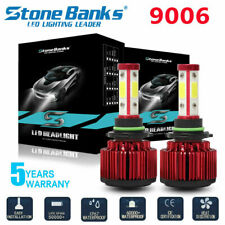 Stone Banks 4side 9006 Hb4 Led Headlight Coversion Kit 72W 8000Lm Canbus White