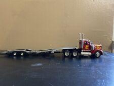 New Ray IH Semi Truck & Car Hauler 1:43