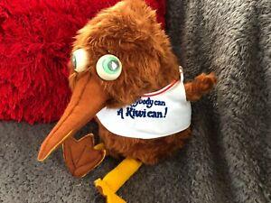 Retro Kiwi Robbity Bob Auckland New Zealand Hand Puppet -Rare & Collectable