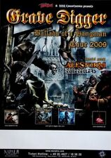 GRAVE DIGGER - 2009 - Plakat - Concert - Ballads of the Hangman - Tourposter