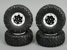 Gmade 1/10 TRUCK Rims Wheels 2.2 BEADLOCK ROCK CRAWLER Wheels GT + TIRES  SET