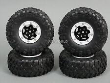 Gmade 1/10 TRUCK Rims Wheels 2.2 BEADLOCK ROCK CRAWLER Wheels GT + TIRES  SET