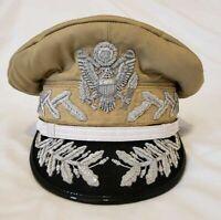Reproduction WW2 Douglas MacArthur General Officers Visor Hat Cap