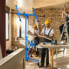 11ft Drywall Lift Panel Hoist Jack Rolling Caster Construction Lockable Yellow