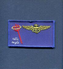 VMFA-321 HELLS ANGELS F-4 PHANTOM AVIATOR USMC Squadron Name Tag Patch