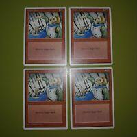 Stone Rain x4 Fourth Edition 4th 4x Playset Magic the Gathering MTG