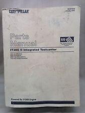 Caterpillar Parts Manual IT38G II Integrated Toolcarrier Wheel Loader CSX1-UP