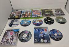Broken Discs games lot of 7. Super smash bros wii, ps3, xbox 360 not working