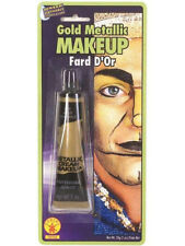 Metallic Gold Metal Costume Make-up Face or Body Paint