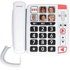 Téléphone Filaire Swissvoice Xtra 1110 / Amplification Sonnerie +80 Décibels
