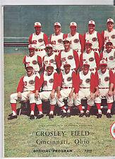 1961--WORLD SERIES (YANKEES BEAT REDS)--REDS PROGRAM--XLNT +
