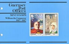 GUERNSEY PRESENTATION PACK MNH 1987 WILLIAM THE CONQUEROR