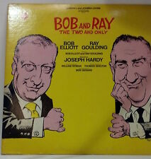 """Bob and Ray """"The Two and Only"""" Columbia LP."""