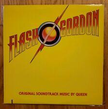 QUEEN FLASH GORDON OST ORIG 1980 LP VINYL W/INSERT FREDDIE MERCURY NM-