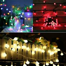 String Lights Indoor Outdoor Mains Operated Party Weddings Decorations 500 LED