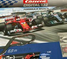 CARRERA Digital 132 Formula Rivals Rennbahn, Mehrfarbig F1