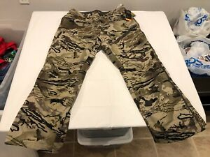 NWT $160.00 Under Armour Mens CG Storm Grit Pants Ridge Reaper Barren Size 36