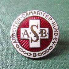 BRD Abzeichen - ASB - Arbeiter Samariter Bund e.V. - emailliert - Ges.Gesch.
