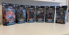 Marvel Legends Fantastic Four Wave 1 Set of 6 BAF Super Skrull Action Figures
