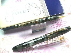 PARKER PARKETTE FROM 1939 FOUNTAIN PEN PENCIL IN BOX RARE IN THIS CONDITION