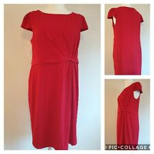 Marks and Spencer Red Dress Size 20 (K1)