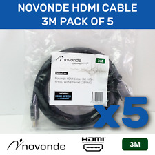 Novonde 3m HDMI cable - 5pack
