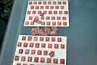 GB QVIC - COLLECTION OF APX 100 PENNY REDS - MOST PLATED INCLUDING PLATE 219