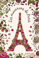 Torchons & Bouchons EIFFEL TOWER Les MACARONS de PARIS French Tea Kitchen Towel